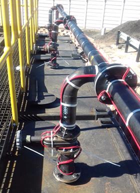 Heat Tracing Effective In Regulating Bitumen