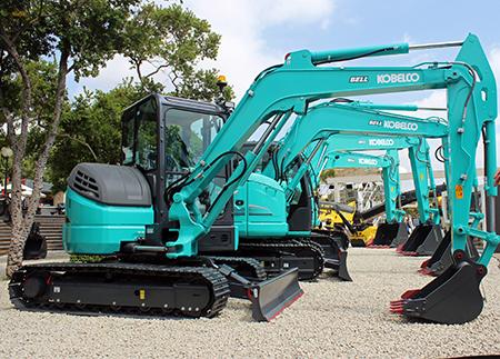 Bell expands Kobelco range with mini-excavators