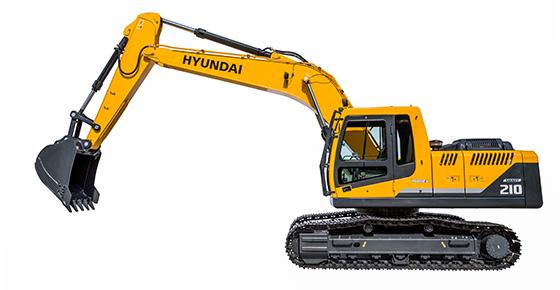 Hpe Africa Launches Hyundai R210l Smart Excavator Series