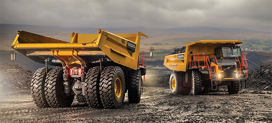 New Volvo Machines On The Way To South Africa