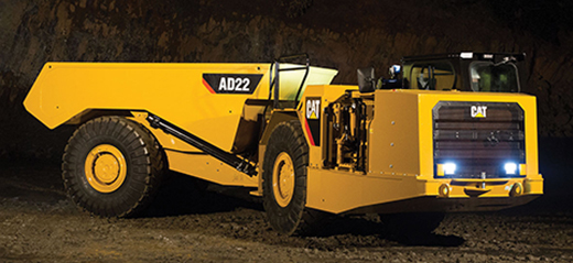 New Cat Mining Truck For Smaller Underground Spaces