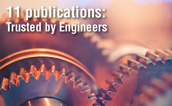 We publish in-depth handbooks for specific engineering sectors.